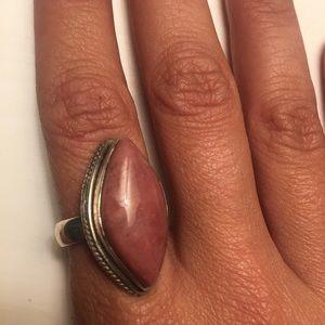 Jewelry - Rhodochrosite Stone Ring